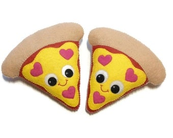 Pizza Plush - Pizza Decoration - Junk Food Gift - Pizza Friendship Gift - BFF Gift - Pizza Plush - Pizza Lover Gift