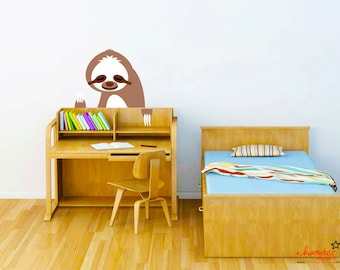 Cute Sloth Wall Decal
