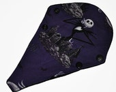 Liner Core- Jack Skellington Reusable Cloth Thong Liner Pad- Windpro Fleece- 8 Inches