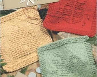 Garden Dishclothes to Knit
