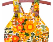 Vintage Overalls / Handmade / Pants / Coveralls / Dungarees - Hello Sunshine