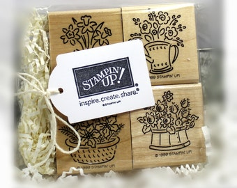 Stampin' Up Bitty Bouquets Stamp Set