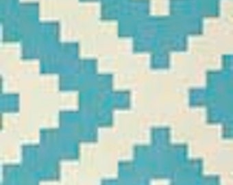1 Yard Home Decor Free Spirit Joel Dewberry -  Flora-DIAMONTE-EUCALYPTUS SaJD030