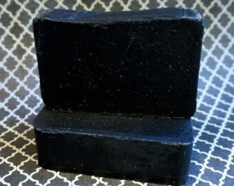 BLACK (Activated Charcoal) Soap, 4.25oz