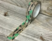 Washi Tape - 15mm - Camouflage - Deco Paper Tape No. 1087
