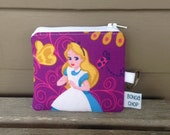 Alice in Wonderland Mini Wallet with ID Holder