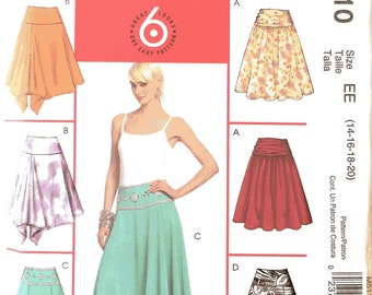 McCalls, M5110, Sewing Pattern, 14-16-18-20