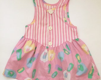 Girls 80s 90s dress