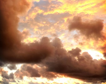 Colors of the Clouds fine art photo print
