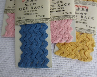 Vintage Warren's Rick Rack Sewing Notions Trim New Old Stock