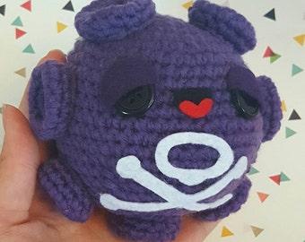 Pokemon Koffing - Kawaii - Amigurumi - Crochet - Doll - Toy