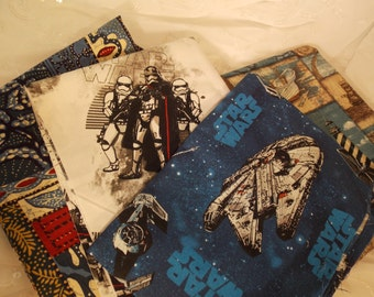 4 Piece Fabric Bundle-Beach Star Wars-DIY Sewing Crafting