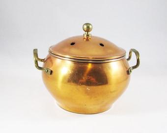 Small Copper Steamer Pot