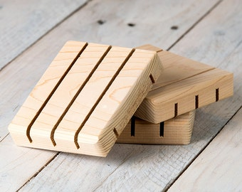 Cedar Soap Dish | Handmade Soap Dish | Soap Saver | Wood Soap Dish