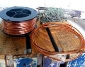 Copper Wire, 10 Gauge Wire, 10 Gauge Half Round Copper Wire, Half Round Wire, Free Shipping in US