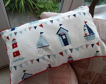 Beach Huts Cushion Cover