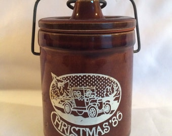 Vintage Butter or Cheese Crock