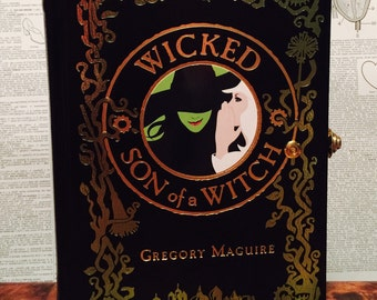 Book Clutch Wicked: Son of a Witch by Gregory Maguire Fantasy Book Purse Made to Order