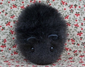 Little Black Hamster Cute Handmade Plush Toy