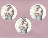 Stickers, Vintage Holy Card, Religious Stickers, Holy Card Stickers