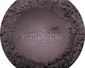 Loose Mineral Eyeshadow-Poison Plum