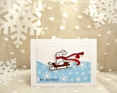Gift Card Holder, Christmas Gift Card Holder, Holiday Gift Card Holder, Christmas Card Gift Card Holder, Mailable Gift Card Holder,