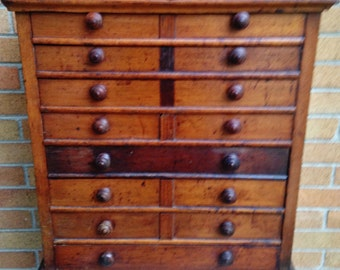 Antique Apothecary Chest Free Shipping