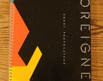 Foreigner Spiral Notebook