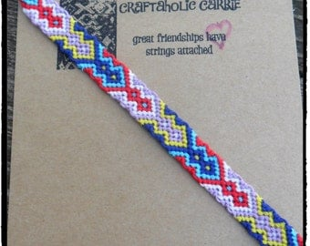 Woven Friendship Bracelet #1888