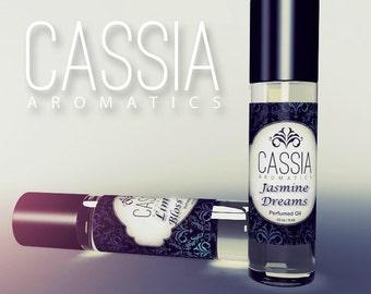 Jasmine Orange flower Lily Rose Jasmine Dreams Oil Perfume VEGAN