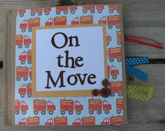 On the Move Scrapbook
