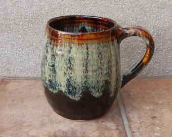 Pint mug beer stein tankard hand thrown stoneware pottery