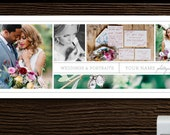 Facebook Timeline Template for Photographers & Wedding Planners - Banner Template - Photo Marketing Templates - Photography Branding