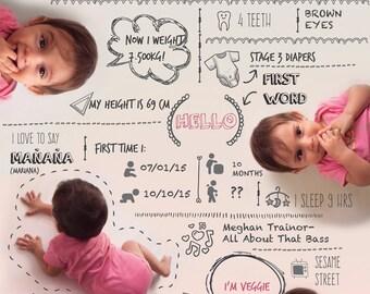 Costum baby infographic