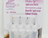 Precision tip glue bottles set of 4
