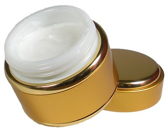 Natural, Vegan, Face Cream, Unscented, Dye Free, Moisturizer, Face Butter, Creamy NOT Greasy