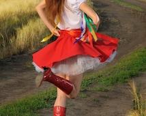 Ukrainian dress / Folk dance costume / Russian costume / White Ukrainian blouse / Ukrainian Costume / Ukrainian skirt / Ukrainian vyshyvanka