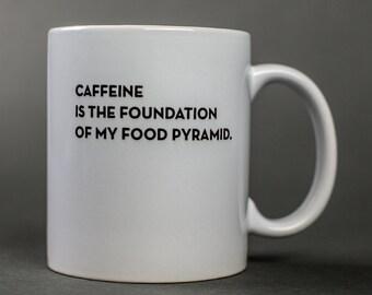 caffeine mug. #038
