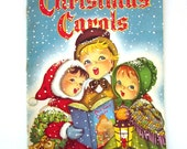Vintage Christmas Carols Book Whitman
