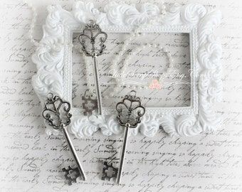 Butterfly Keys Set of 3 for Scrapbooking, Cardmaking, Wedding