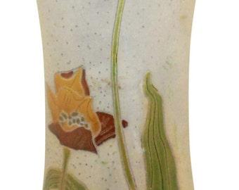 Roseville Pottery Fujiyama Vase 974-11