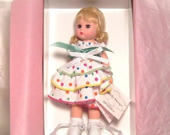 Vintage Miniature Madame Alexander Collector Doll - Candy Drops