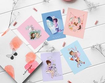 Sweet Dreams Postcard Pack