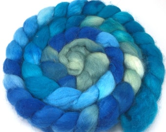 Baby Alpaca Combed Top - spinning fiber - Ionian Sea