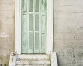 New Orleans Door Art Photography, French Quarter Door Picture, Louisiana Decor, Spring Wall Art, Pastel Print, NOLA Art Print, Travel Photo