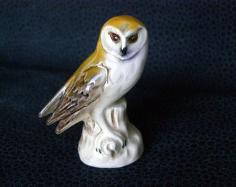 Goebel Barn Owl Miniature Figurine Germany