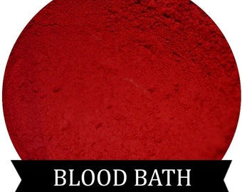 Red Eyeshadow BLOOD BATH