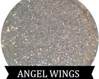 ANGEL WINGS Golden Natural Glitter Eyeshadow Makeup