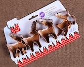 Reindeer Cookie Cutter, Christmas Cookie Cutters, Holiday Cookie Cutters, Cookie Cutter Set, Wilton Cookie Cutters, Deer Cookie Cutters