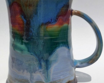 Astrial Rainbow VII -- 14 ounce Coffee Mug or Tea Mug